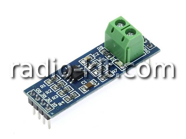 Преобразователь TTL-RS485 на MAX485 Модуль