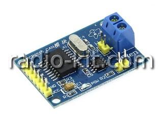 Контроллер CAN шины для Ардуино на MCP2515 Модуль