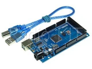 Ардуино MEGA2560 R3 DCCduino с USBA-USBB шнуром Модуль