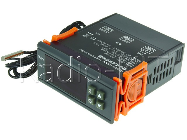 Терморегулятор цифровой AC220V MH-1210W в корпусе приборном
