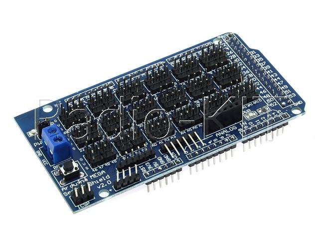 Плата расширения для Ардуино Mega Sensor Shield V2.0 Модуль