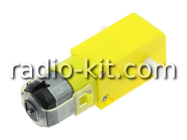Двигатель постоянного тока с редуктором, сервопривод Ф=20мм