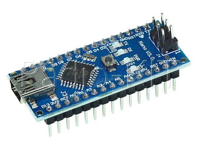 Ардуино nano V3.0 Mega328 DCCduino с FT232RL и USBA-USBmini шнуром Модуль