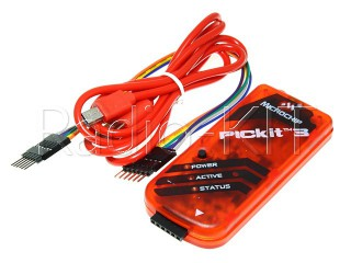 PICkit 3 программатор внутрисхемный microchip Модуль