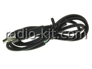 Преобразователь USB-TTL на PL2303HX, разъем USB Модуль со шнуром