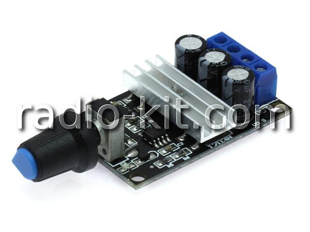 Регулятор PWM 0.05KW вращения двигателя постоянного тока PWMDC3 Модуль