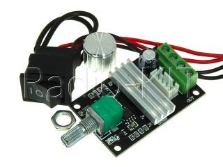 Регулятор PWM 0.05KW вращения двигателя постоянного тока PWMDC3 с переключателем Модуль