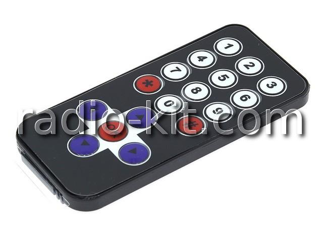 Пульт инфракрасный мини 17 кнопок