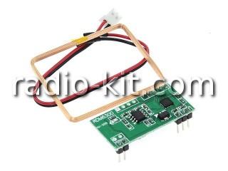 RFID комплект с рамочной антенной RDM6300 Модуль
