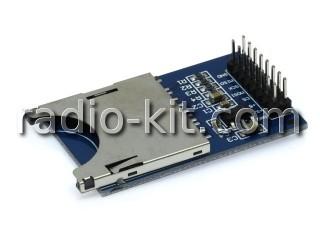SD-картоприемник, чтение-запись SPI-интерфейс для Ардуино Модуль