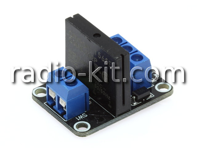 Плата реле полупроводниковое — 1 шт Модуль