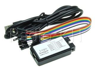 Логический анализатор USB SALEAE 24M 8CH модуль