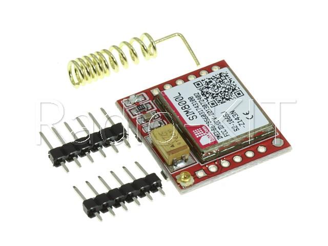 Радиомодуль для Ардуино GSM/GPRS на SIM800L + Антенна Модуль