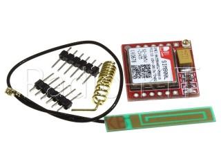 Радиомодуль для Ардуино GSM/GPRS на SIM800L + Антенна+провод HW-748 Модуль