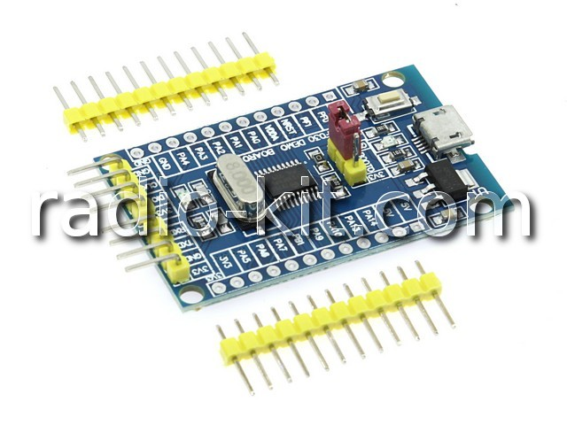 STM32F030F4P6 Demo Board Модуль
