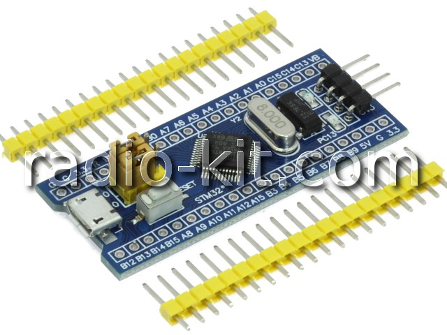 STM32F103C8T6 Demo Board Модуль