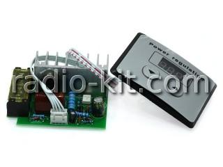 Регулятор мощности AC 220V 4kW без корпуса с кнопочным управлением Модуль (комплект 2 модуля)