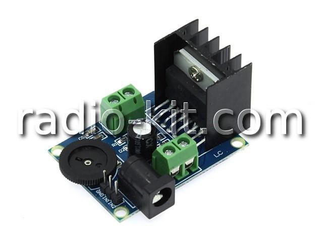 УНЧ 2х  7Вт на TDA7266 Модуль