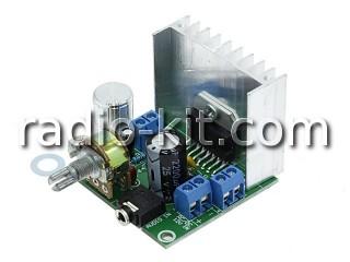 УНЧ 2х 15Вт на TDA7297 с регулятором громкости Модуль