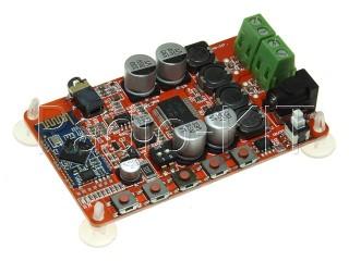 Аудиомодуль с Bluetooth и усилителем 50Вт на TDA7492P Модуль
