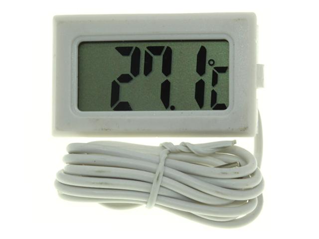Термометр цифровой TPM-10 белый корпус датчик внутри