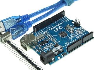 Ардуино UNO R3 Mega328 DCCduino с USBA-USBB шнуром Модуль
