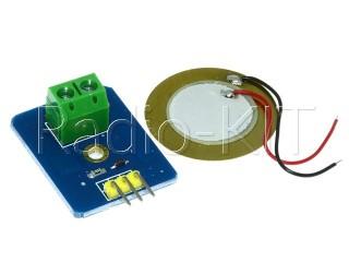 Датчик вибрации для Ардуино Ceramic piezo Модуль