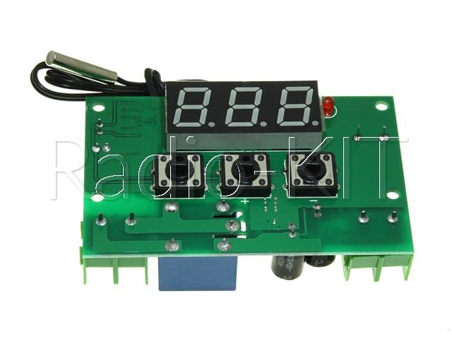 Терморегулятор цифровой DC12V XH-W1301 Модуль