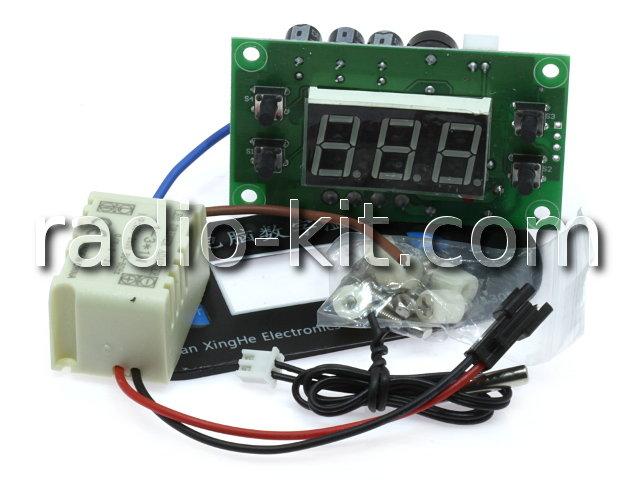 "Терморегулятор цифровой AC220V индикатор 0,56"" зеленый XH-W1308 Модуль"