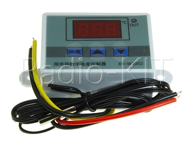 Терморегулятор цифровой AC220V XH-W3002 в корпусе накладном