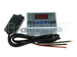 Регулятор влажности цифровой AC220V XH-W3005 в корпусе накладном