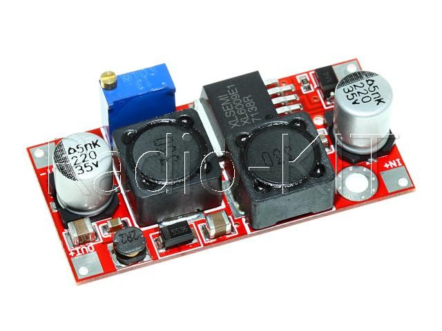 Преобразователь DC-DC повышающий-понижающий на XL6009 Модуль