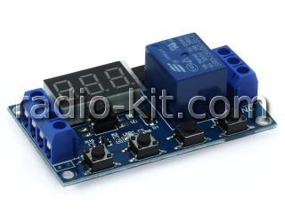 Таймер/счётчик цифровой с реле на выходе XY-J02 Модуль