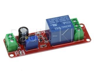 Реле с задержкой времени включения на NE555 Модуль
