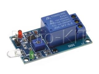 Реле обнаружения света с фотодиодом 5VDC Модуль