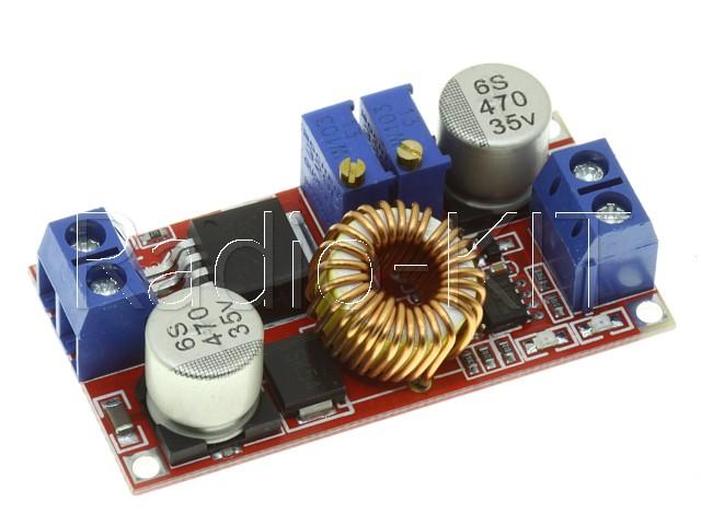 Преобразователь DC-DC понижающий со стабилизацией тока на XL4015E1 Модуль