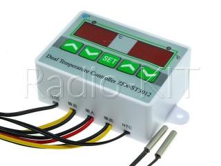 Терморегулятор цифровой AC220V ST3012 в корпусе накладном