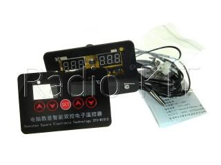 Терморегулятор цифровой AC220V XH-W1012 врезное исполнение