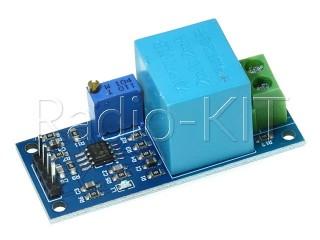Датчик напряжения переменного тока на трансформаторе ZMPT101B Модуль