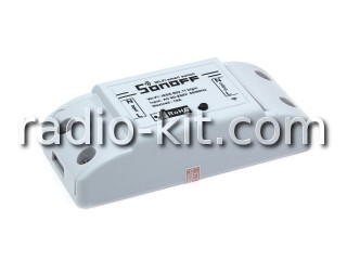 Sonoff WiFi реле Basic
